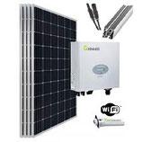 9,8 kWp Photovoltaikanlage für Pfannendach