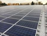 2,8 kWp Photovoltaikanlage für Trapezblechdach