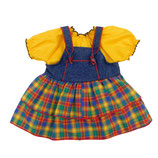 Kleid mit Bluse, Größe 43