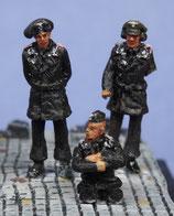 Tankistes allemands début guerre (x3) (R72412)