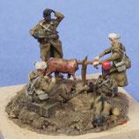 Infanterie coloniale française autour d'un méchoui (R72413)