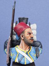 Buste Zouave (Réf. B002)