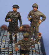 Tankistes polonais (x3) (R72411)