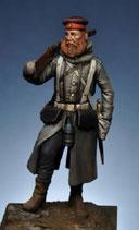 Figurine Fantassin Prussien à pieds 1870 (Réf.FH004)
