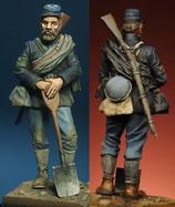 Figurine Pionnier nordiste (Réf. FH002)