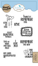 Remember the now- Clear Stamps