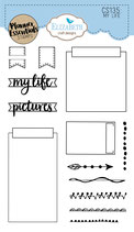 *NEW* My Life - Clear stamps Pre-Order