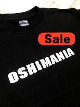 KO_オリジナルスウェット_Oshimania(BLACK)