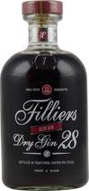 Filliers Sloe Dry Gin 28 0,5 Liter 26 % Vol.