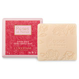 L`Occitane Rose Seife   75g