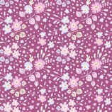 Tilda - Flower Confetti Plum