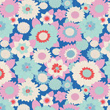 BOOGIE FLOWER DOVE BLUE