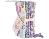 Tilda Lazy Days Fat Quarter Bundle - lila