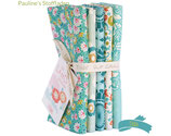 Tilda Lazy Days Fat Quarter Bundle - teal