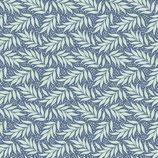 Tilda  Cottage Berry Leaf Blue