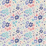 Tilda -Flower Confetti Blue