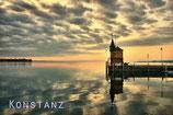 Postkarte Hafen Konstanz
