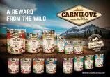 Carnilove snacks.