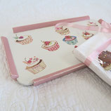 "Mini-Tablett ""Cupcakes"""