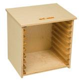 EDUCO Puzzle Aufbewahrungsbox