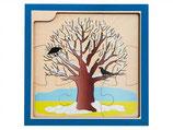 Lagenpuzzle 4-lagig