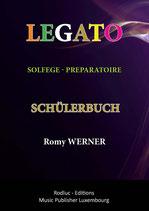 LEGATO SOLFEGE preparatoire - Schülerbuch