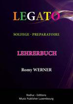 LEGATO SOLFEGE preparatoire - Lehrerbuch