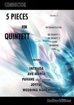 5 Pieces Brass Quintett