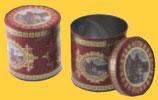 Sammlerdose Nürnberg, gefüllt mit 5 leckeren Elisen-Lebkuchen