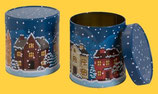 Sammlerdose Wintertraum, gefüllt mit 5 leckeren Elisen-Lebkuchen