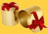 Sammlerdose Geschenk, gefüllt mit 5 leckeren Elisen-Lebkuchen