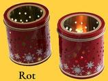Sammlerdose Teelicht, gefüllt mit 5 leckeren Elisen-Lebkuchen