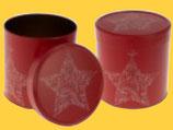 Sammlerdose Stern, gefüllt mit 5 leckeren Elisen-Lebkuchen