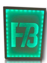 LED Wandbild F73