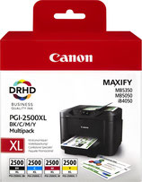 Pack Canon Maxify 2500 4 couleurs XL OEM