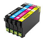 Compatibles Epson 405  XL Noire ,  Cyan, Magenta et Jaune