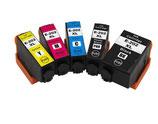 Compatibles Epson 202  XL Noire , Photo noire, Cyan, Magenta et Jaune