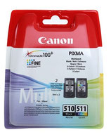 Pack Canon PG510 CL 511 OEM