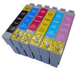 Compatibles Epson T0801 à T0807