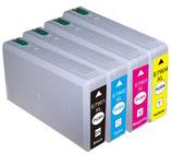Pack Compatibles Epson T7901 à T7904