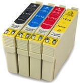 Compatibles Epson T0711 à T0715