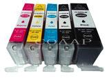 Compatibles Canon PGI 580 CLI 581 XXL
