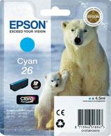 Epson T2612 Cyan