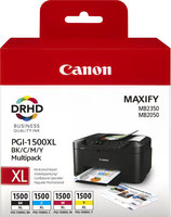 Pack Canon Maxify 1500 4 couleurs  OEM