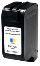 Compatible HP 17 Tri color XL Uprint