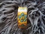 LEDER Armband handkolorierte Blumen (RLA29)