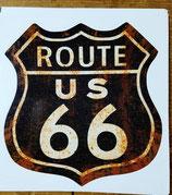 Route 66 - Autoaufkleber