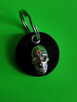 Totenkopf Schlüsselanhänger schwarz