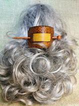 Haarschmuck, Haarspange mit Stab, punziert (HS7)