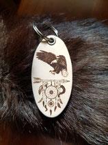 Schlüsselanhänger Adler / Traumfängr